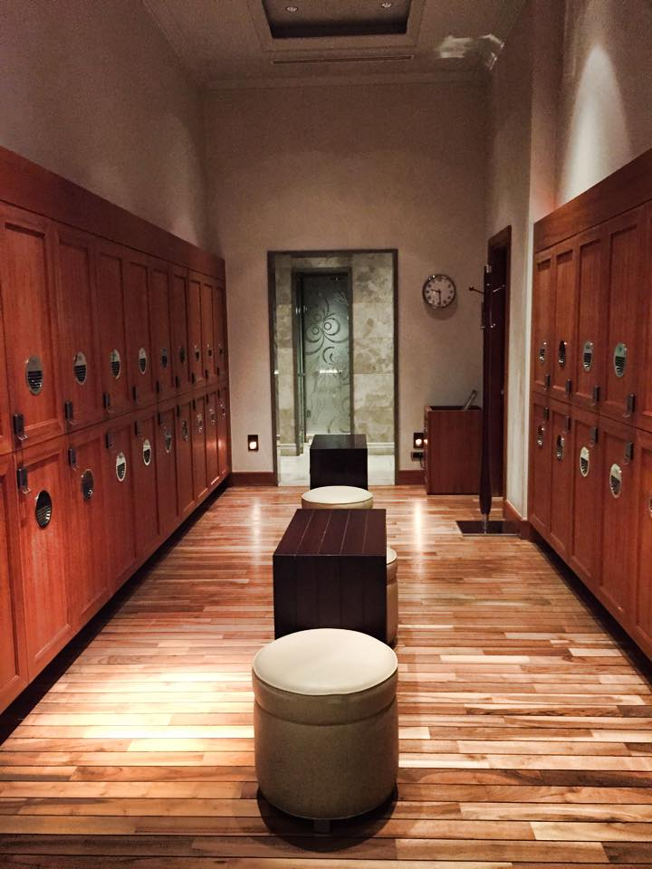 Vestiaire du Spa Four Seasons Bosphorus Istanbul © Capucineee.com