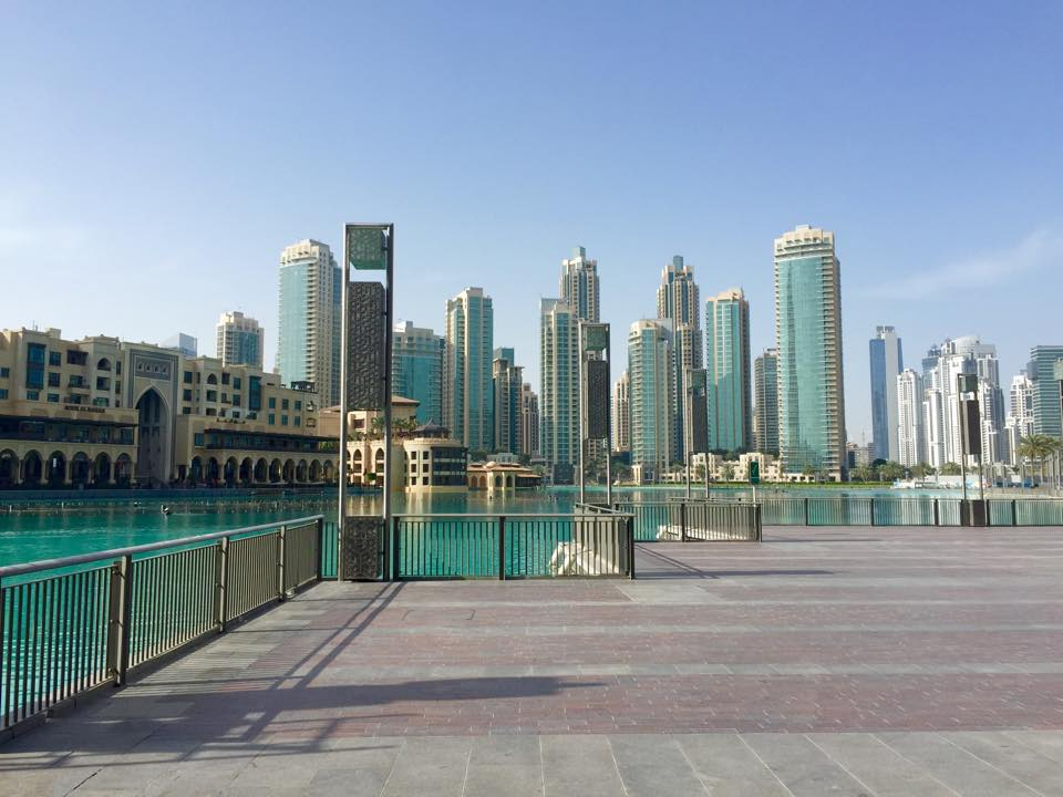 Fontaines - Dubai Mall © Capucineee.com