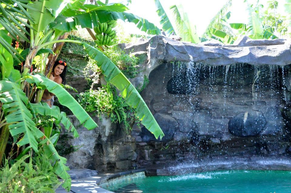 Audrey à Bali