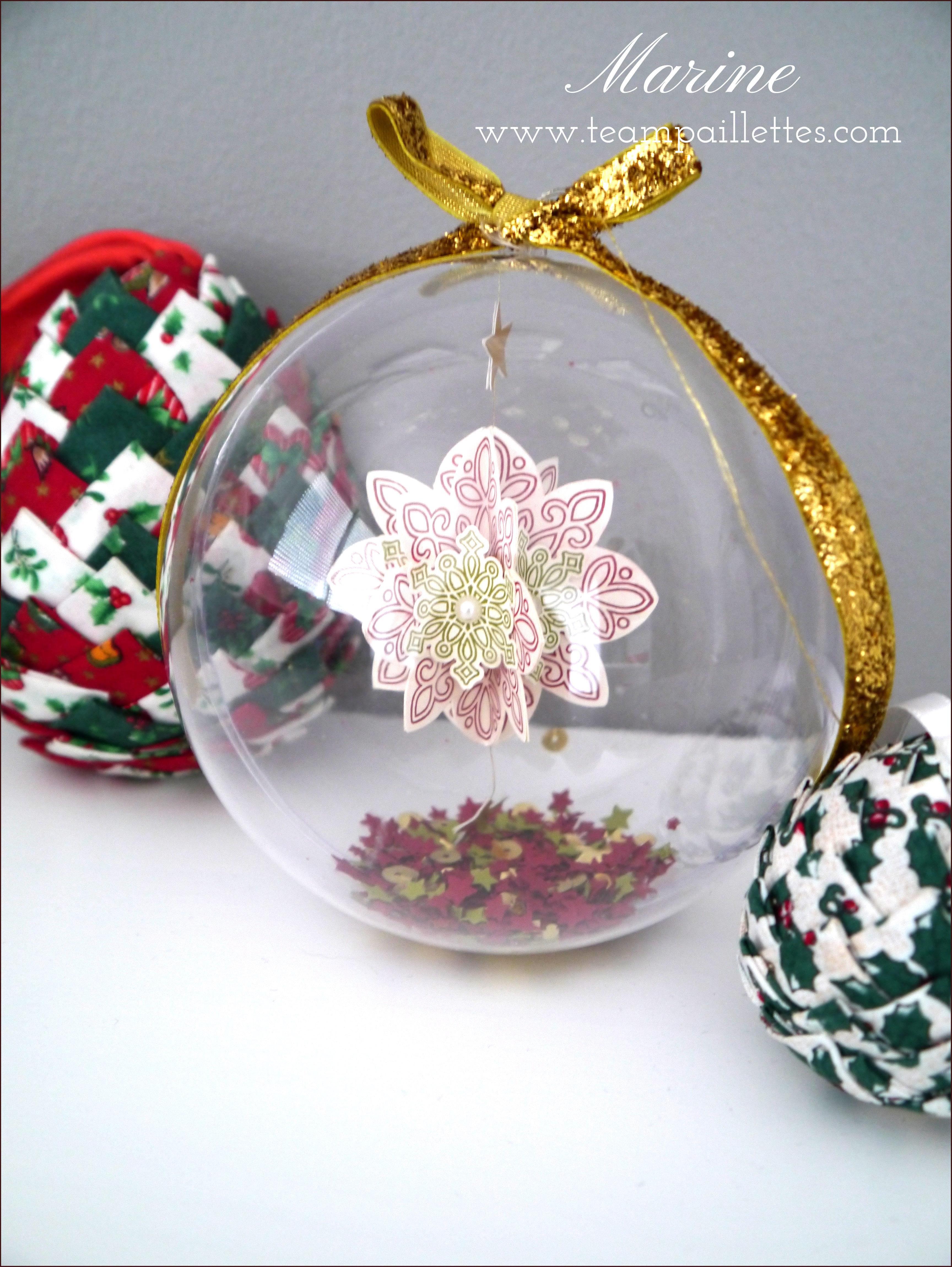 Diy Boule De Noel.Diy De Noël La Boule à Neige Team Paillettes