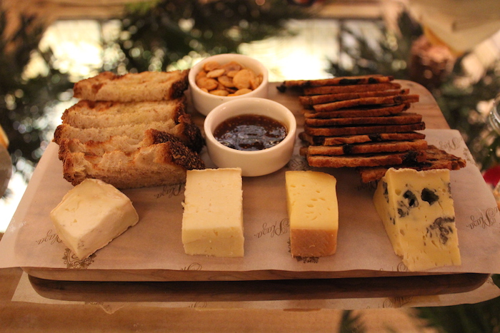 Local Cheeses - The Palm Court