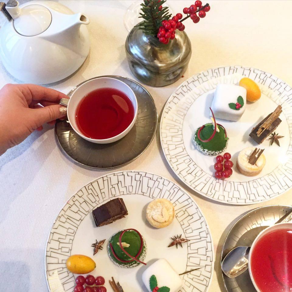 afternoon tea de Noël à l'intercontinental park lane 2