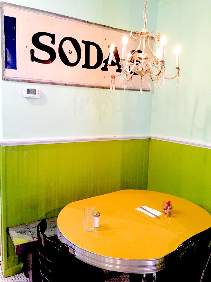 kitchenette soda